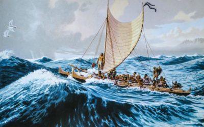 La Llegada de los primeros Polinesios a Rapa Nui
