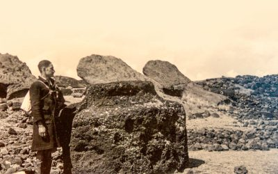 Antique Photos of Rapa Nui found in the Museum of Cologne, Germany