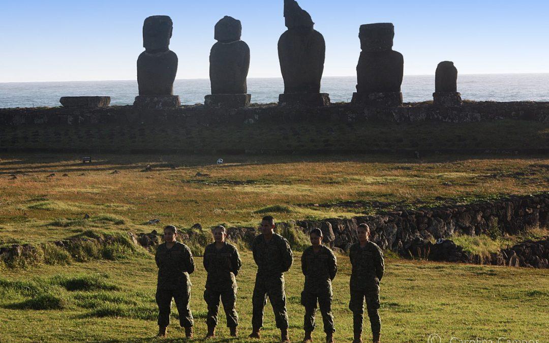 Soldados Rapa Nui en la Guerra del Pacífico