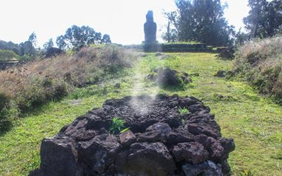 CREMATION IN RAPA NUI